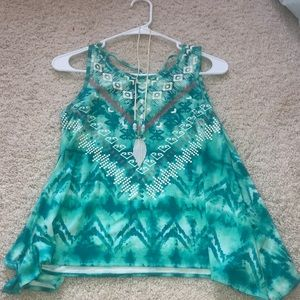 Tank top with FREE necklace